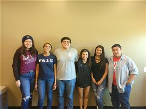 Kofa seniors who have been awarded top scholarships