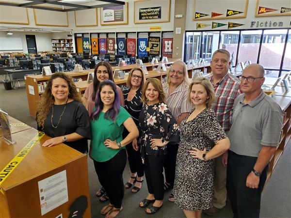 The 2019-20 Cibola High School guidance department.