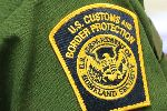 A Border Patrol shoulder patch.