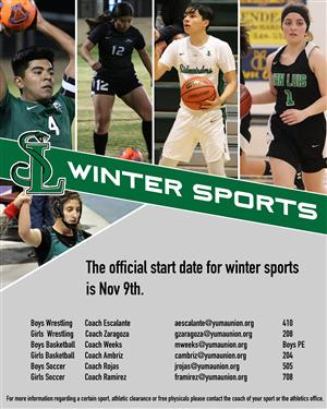 SLHS winter sports to begin season with modified practice schedule