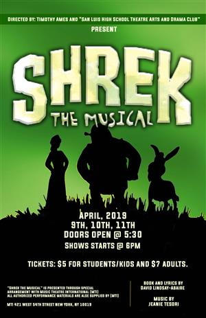 Quotshrek The Musicalquot Is Coming To Slhs