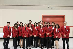 SkillsUSA members at Fall Conference