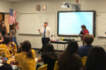 CHS mock trial met for the first time this school year on Aug. 28.