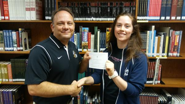 Natalie Scott was named national merit commended student.