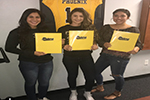 CHS Softball trio sign letters of intent with Phoenix College