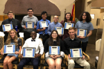 The Optimist Clubs of Yuma recognized Cibola students for service to others
