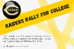 Raiders Rally For College
