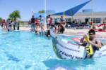 Students at Float Your Boat challenge