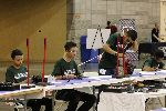 Kofa students working on project at SkillsUSA state finals