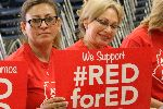 YUHSD Governing Board adopts #RedforEd Resolution