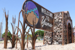 The latest welcome to Yuma sign