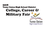 College Career & Military Fair graphic