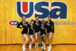 GRHS stunt team at state