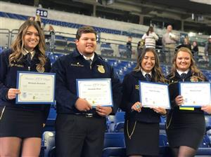 GRHS FFA recipients