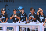 Gila Ridge softball dugout
