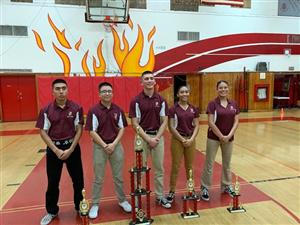 Kofa drill team at Sweetwater high