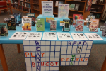 A table for Bingo reading contest