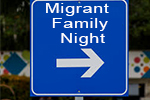 Migrant Family Night was held in October.