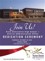 Invitation for ribbon-cutting event