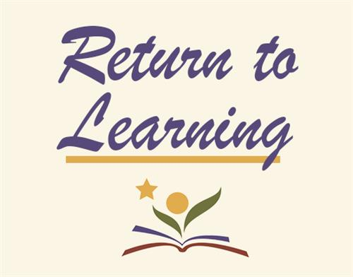 Return to learning button