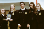GRHS FFA students from the Food Safety team