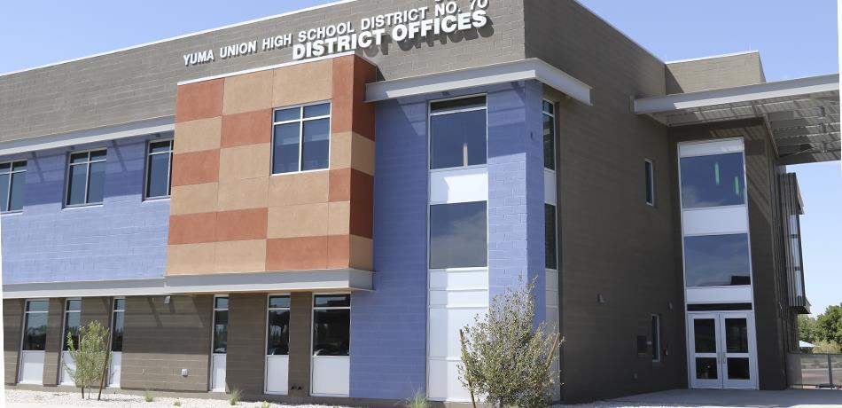 Yuma Union High School District Homepage